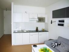 Musterwohnung_Küche_Wohnen